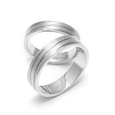 polished in platinum rings infinity ring dia plat diamond wedding band anniversary