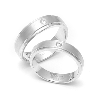 Platinum Couple Rings - Platinum Rings For Couples