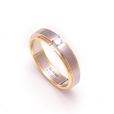 high ceramic on plated top diamond bands product platinum with super imitation world rings store ring piece flash couple s online